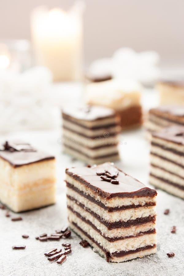 Разнообразие торта стоковое изображение rf