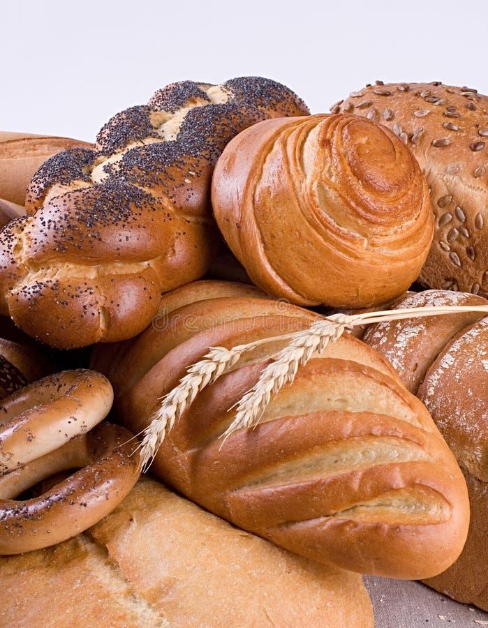 разнообразие хлеба стоковые фото