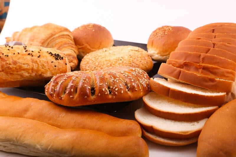 Разнообразие хлебопекарни стоковое фото
