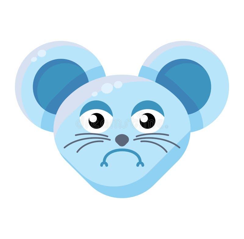 Разнообразное выражение Emoji Funny Animal Mouse бесплатная иллюстрация