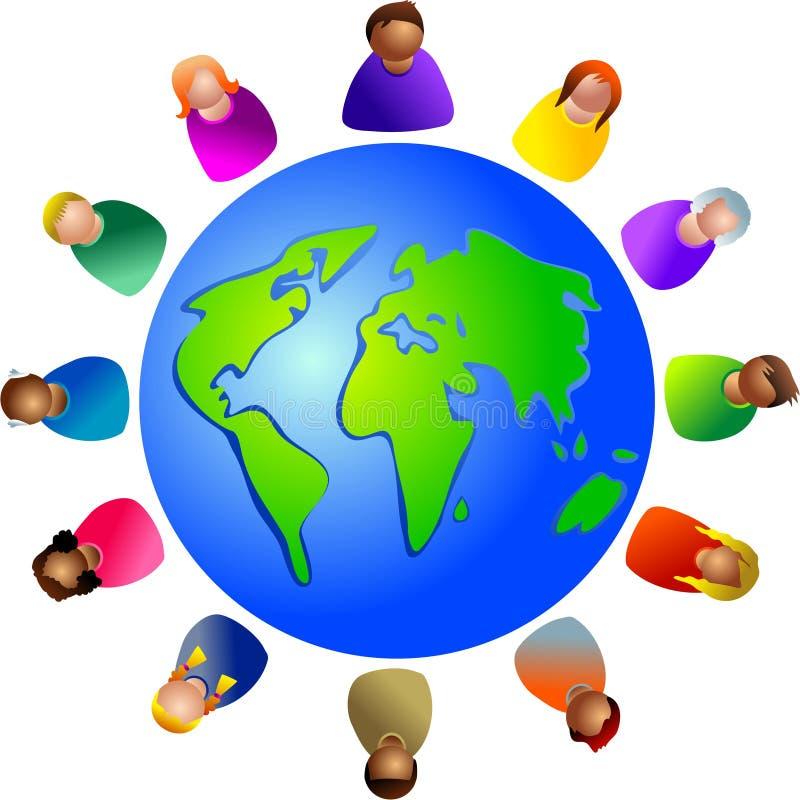 разнообразный мир бесплатная иллюстрация