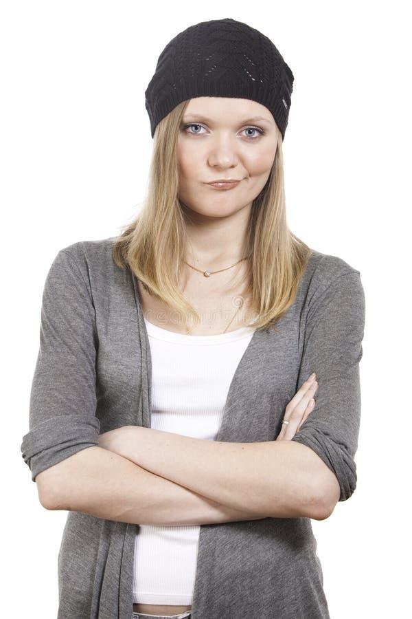 разочарованная девушка стоковое изображение