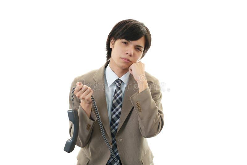 Download Разочарованный бизнесмен стоковое фото. изображение насчитывающей бизнесмен - 37930144