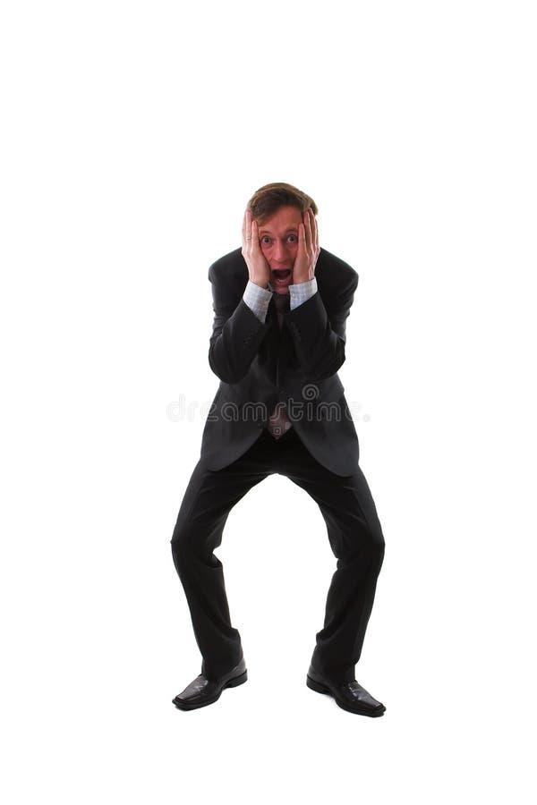 разочарованный человек стоковое изображение rf