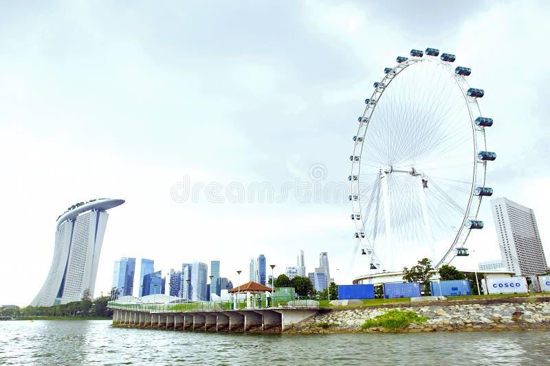 Разрастание городов Сингапура стоковое фото rf