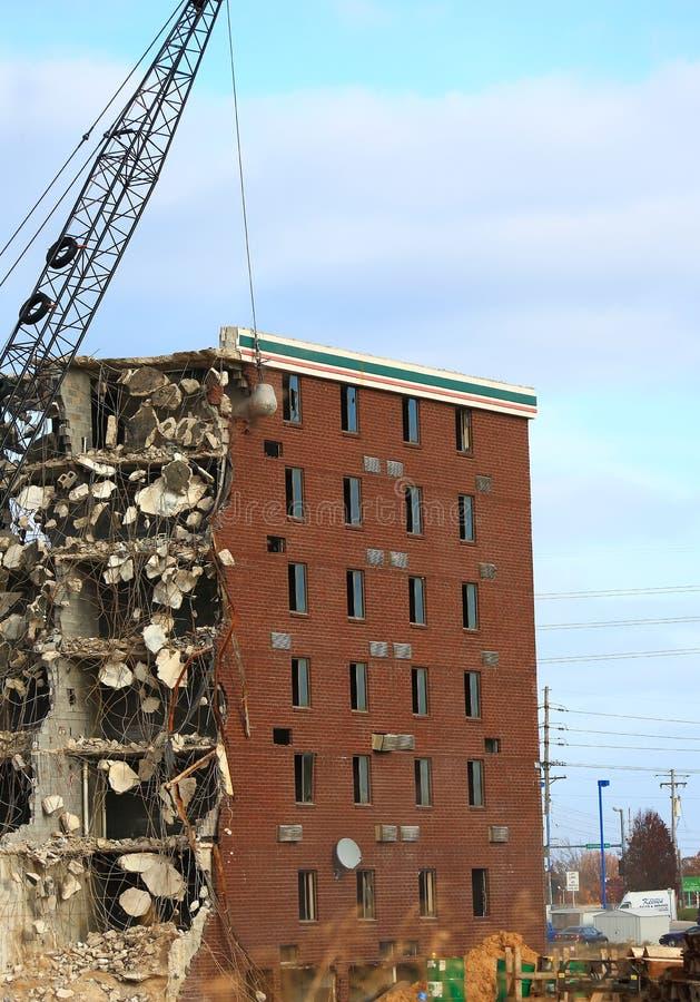 Разрушать гостиницы Холидей стоковая фотография rf