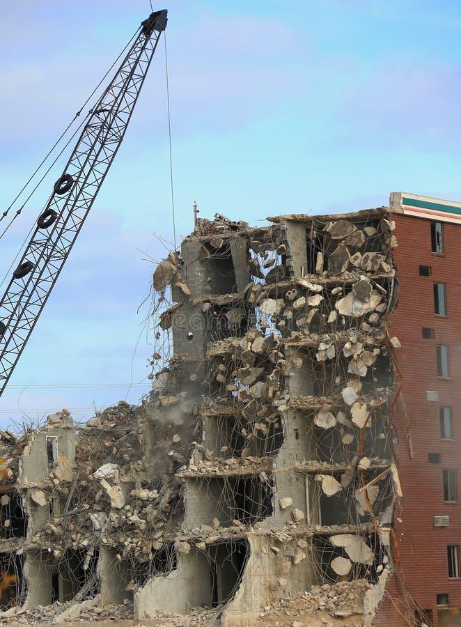 Разрушать гостиницы Холидей стоковое изображение