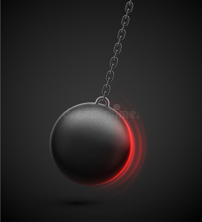 разрушать шарика бесплатная иллюстрация