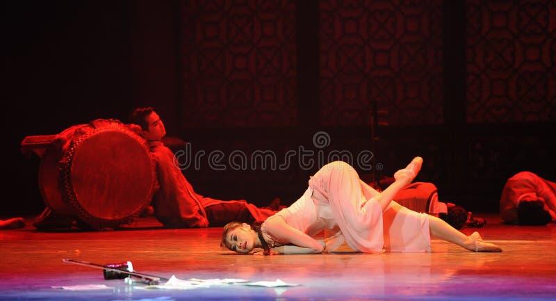 Разрушение поступка боли- третьего событий драмы-Shawan танца прошлого стоковые изображения rf