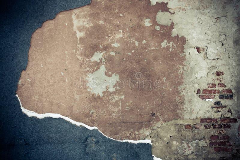 разрушенная стена стоковое изображение