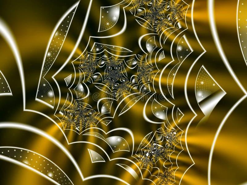 Разрушенные сновидения иллюстрация вектора