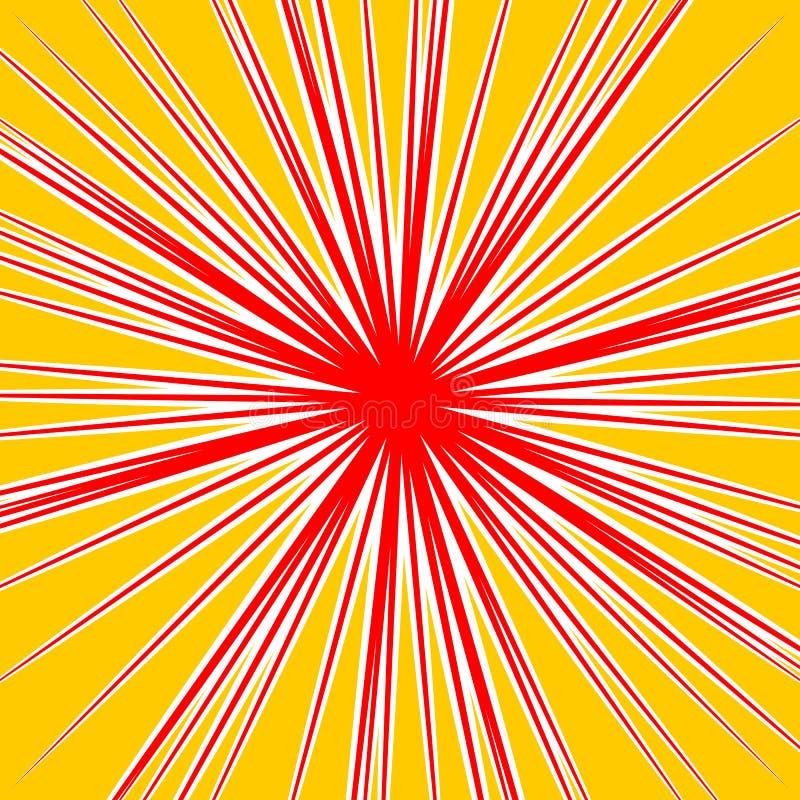 Download Разрывать Radial выравнивает влияние взрыва Dutone Starburst, Sunbur Иллюстрация вектора - иллюстрации насчитывающей взлета, радиально: 81806531