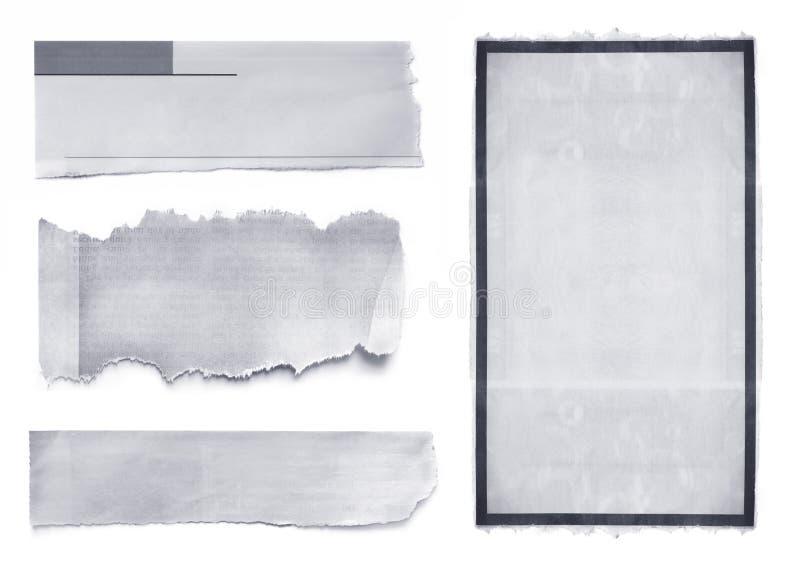 разрывы газеты