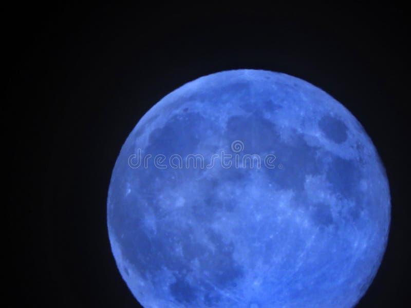 Раз в голубой луне стоковая фотография rf
