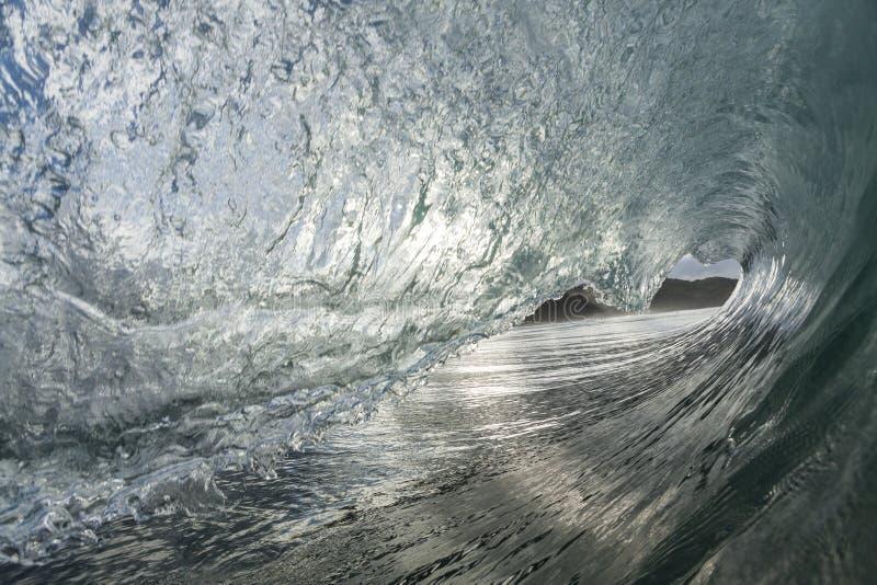 Разливание волны стоковые изображения rf