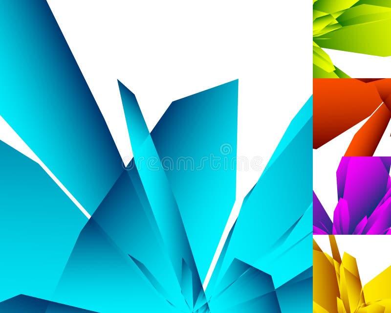 Download различная абстрактная геометрическая предпосылка 5 в цвете 5 Иллюстрация вектора - иллюстрации насчитывающей влияние, magenta: 81811668