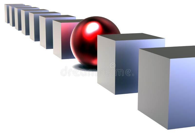 Различная концепция иллюстрация вектора