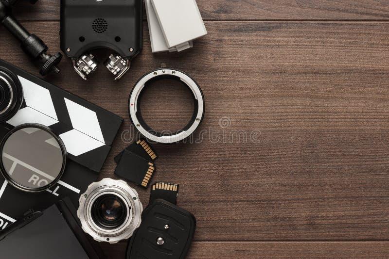 Различное видеооборудование стоковая фотография