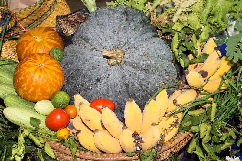 Различные красочные сырцовые овощи стоковое изображение rf