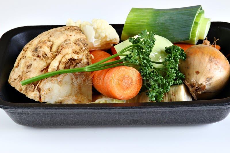 Различные овощи корня для супа стоковая фотография