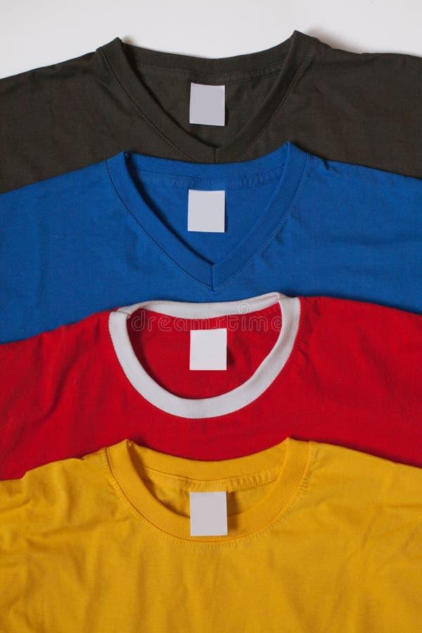 Различные футболки стоковая фотография