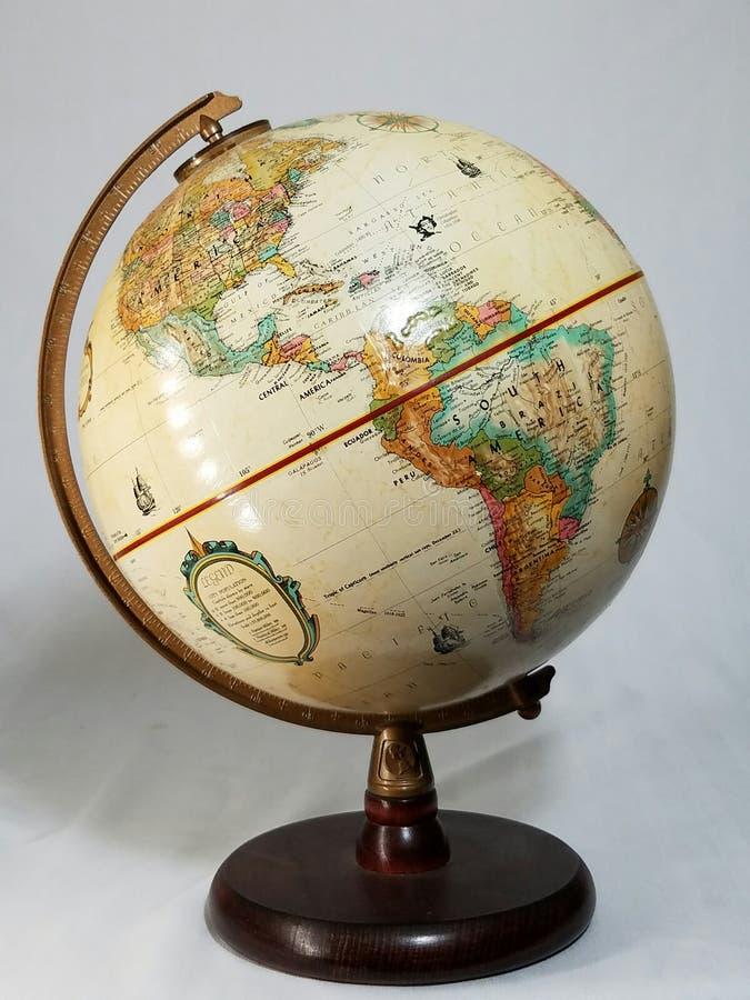 различный вектор иллюстрации глобуса осматривает мир стоковое фото