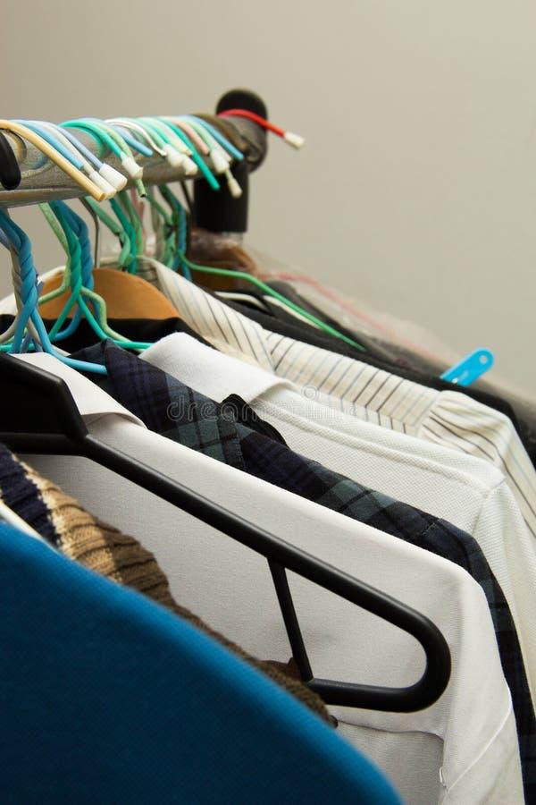 Различный тип одежд стоковые фотографии rf