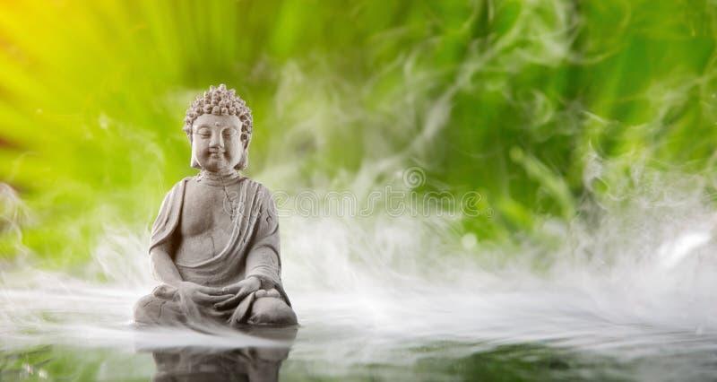 раздумье Будды стоковые изображения rf