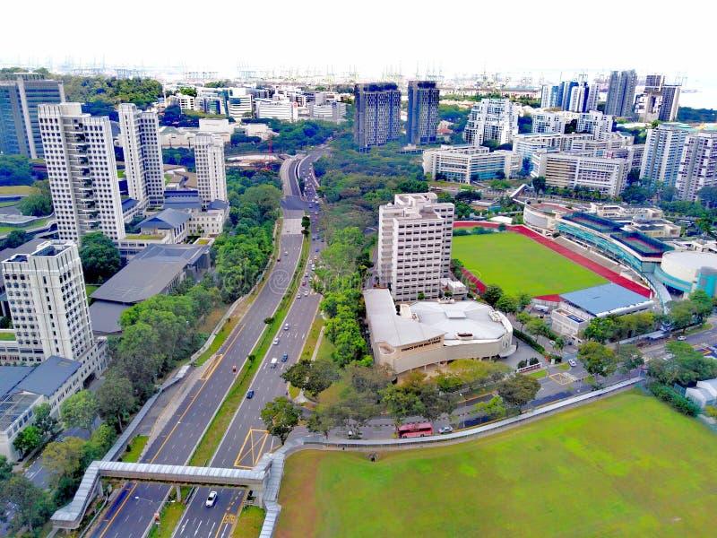 Район Clementi в Сингапуре стоковая фотография