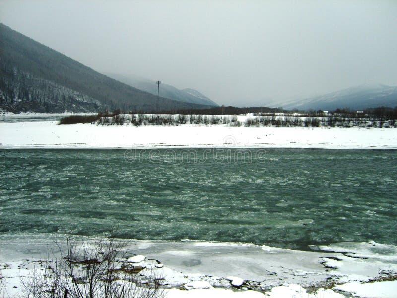 Район Mamsko-Chuy области Иркутска стоковая фотография rf