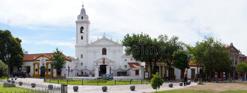 Район Recoleta в Буэносе-Айрес стоковые изображения