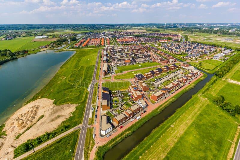 Район Schuytgraaf Vinex стоковое фото