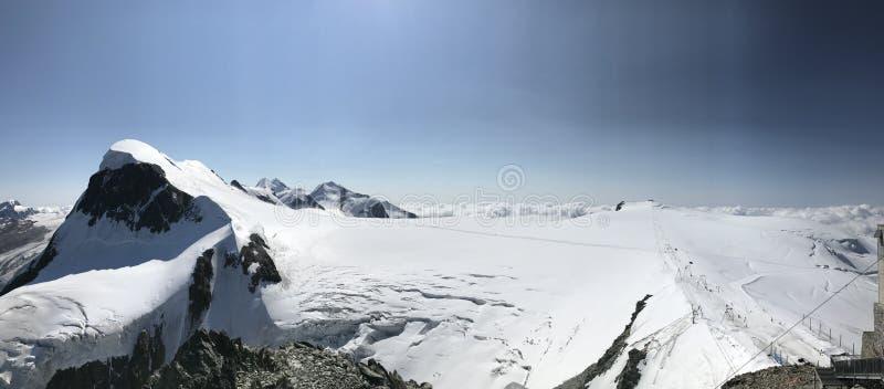 рай ледника Маттерхорна стоковые фото