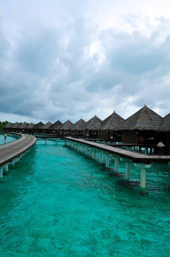 рай Мальдивов, котор нужно приветствовать стоковое изображение rf