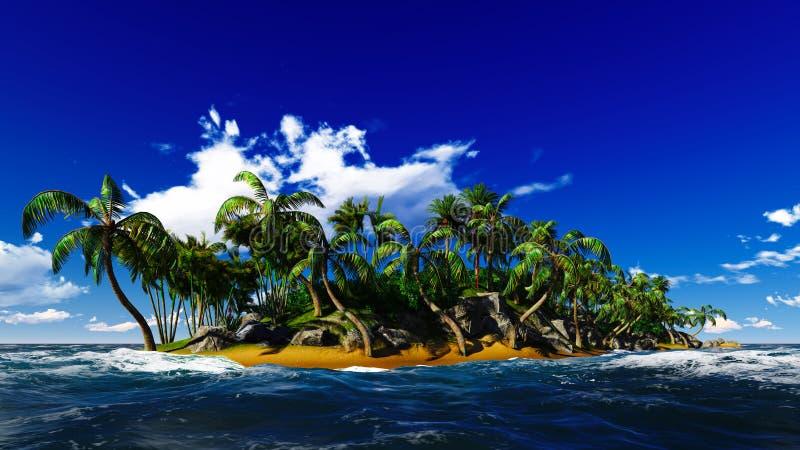 Рай на острове Гаваи стоковая фотография