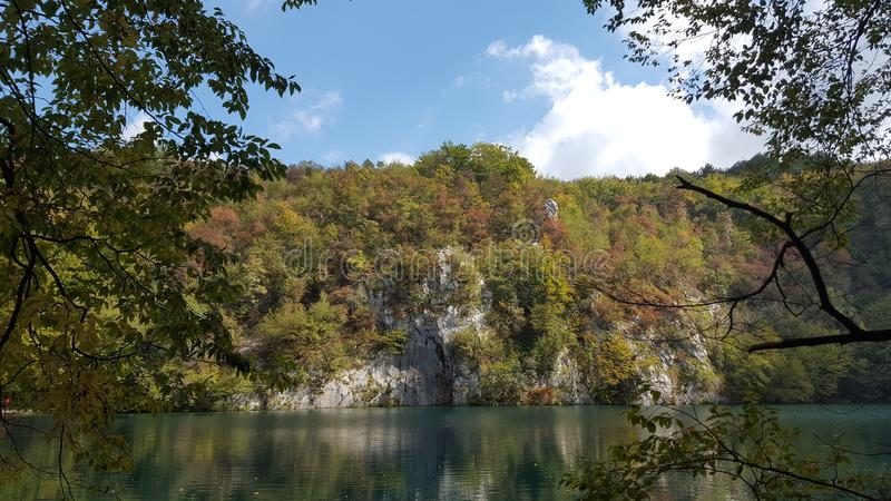 Рай озера стоковое фото rf