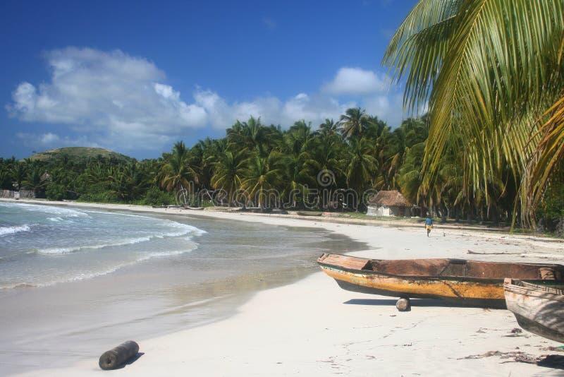 рай пляжа стоковые изображения rf