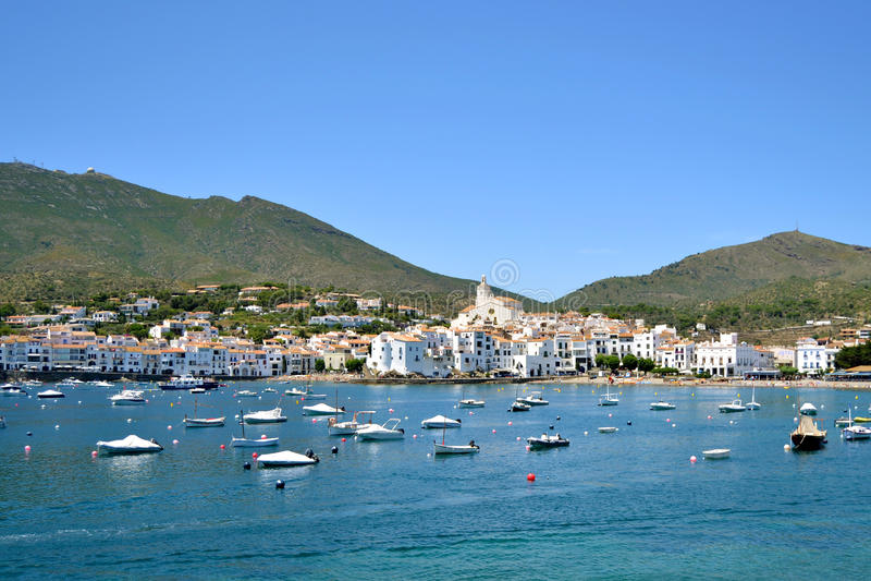 Рай типичного ландшафта среднеземноморской стоковое фото