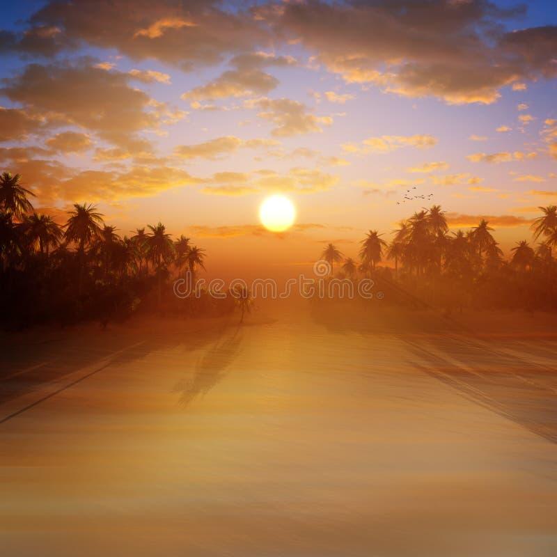 рай тропический иллюстрация штока