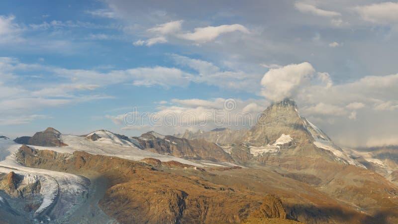рай matterhorn ледника стоковые фото
