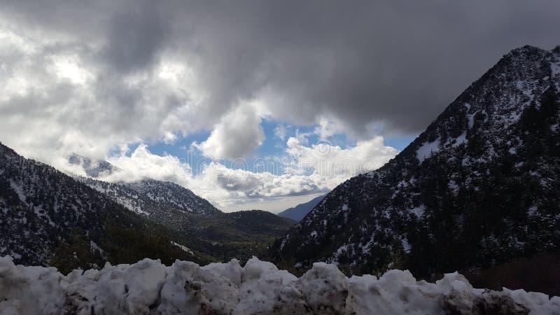 Рай Snowy стоковое изображение rf