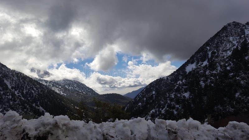 Рай Snowy стоковое изображение