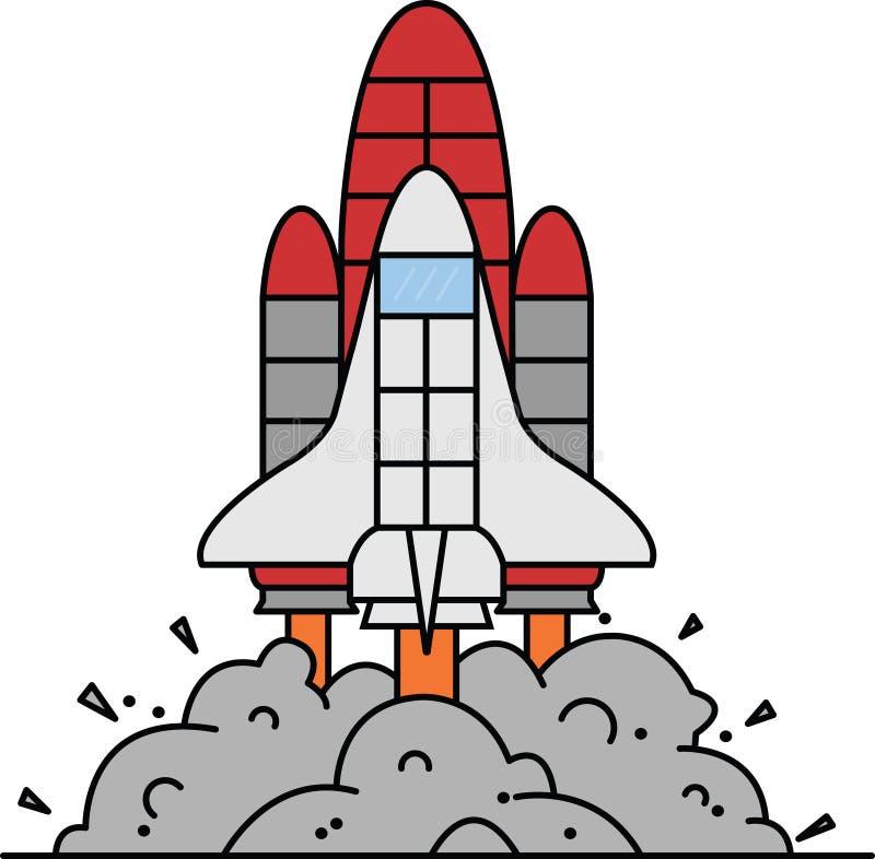 Ракета принимает  стоковая фотография