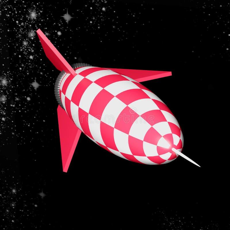 Ракета иллюстрация штока