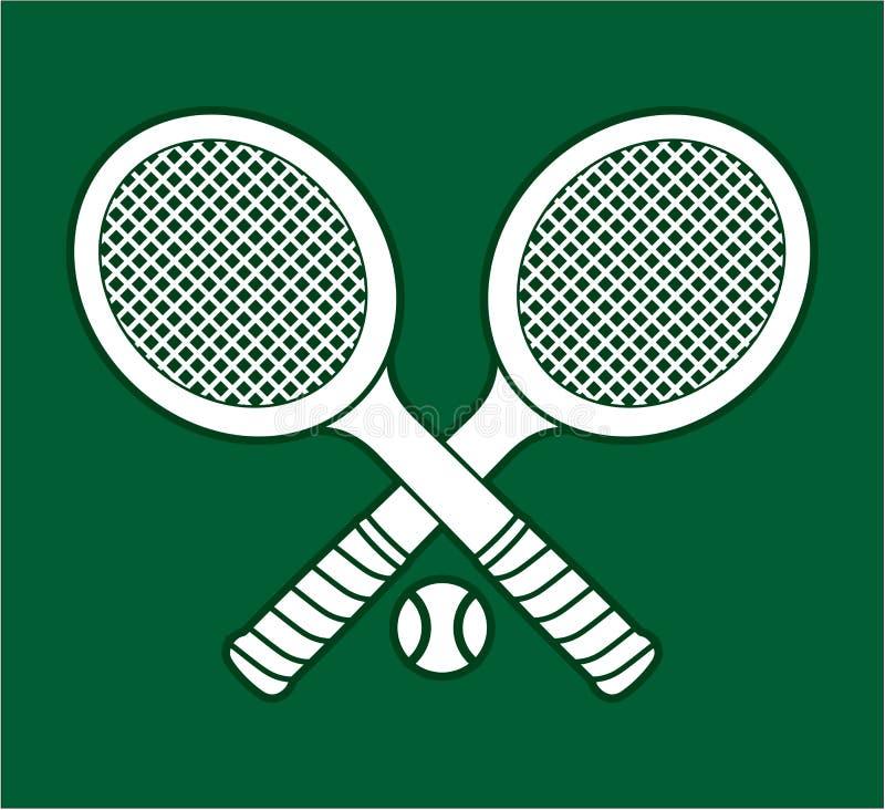 Ракетки тенниса бесплатная иллюстрация