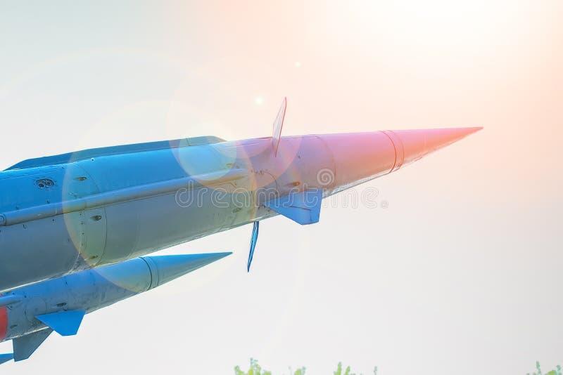 Ракеты в музее стоковое фото