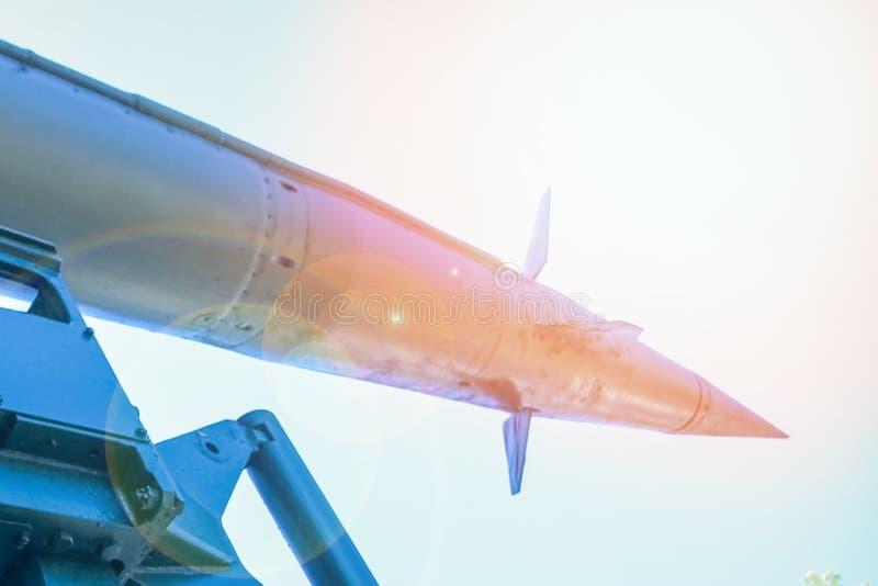 Ракеты в музее стоковая фотография