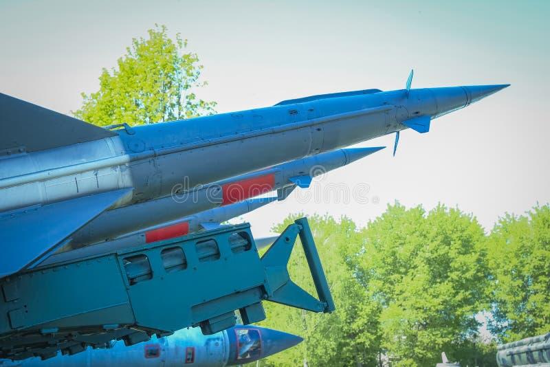 Ракеты в музее стоковые фото