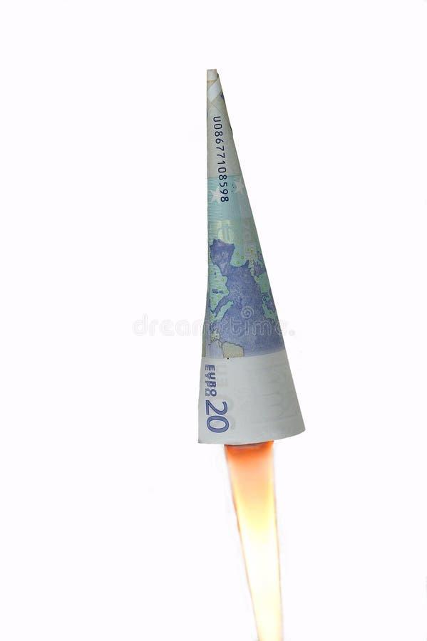 ракеты евро Стоковые Фотографии RF