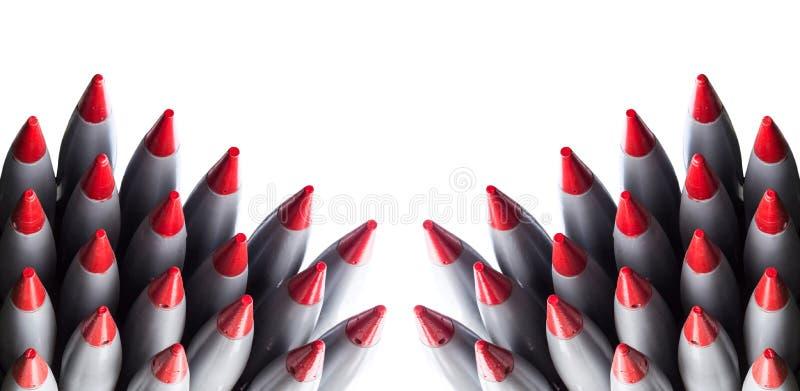 Ракеты изолировали стоковое фото rf